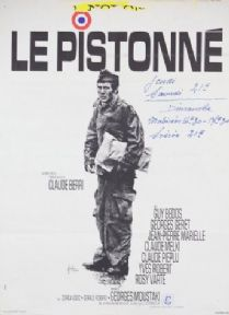 Vintage French movie poster - Le Pistonne